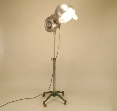 Hair Dryer Floor Lamp