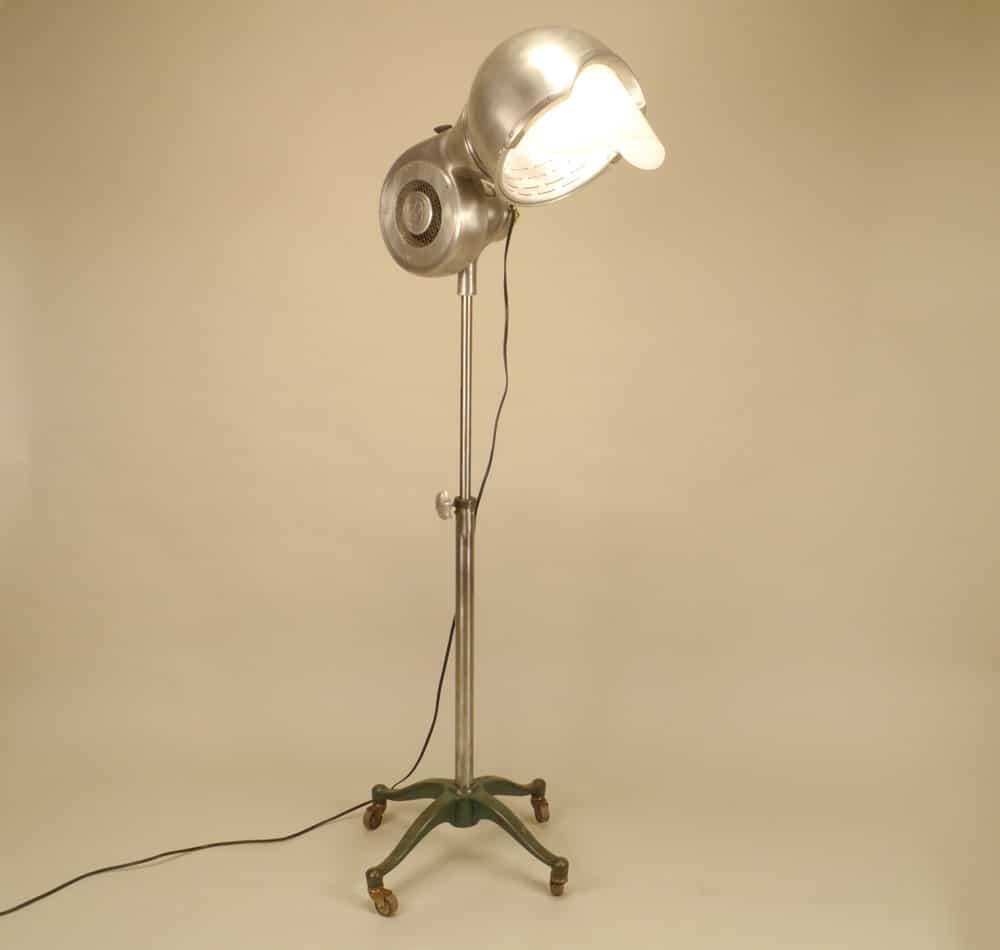 Hair Dryer Floor Lamp Id Lights