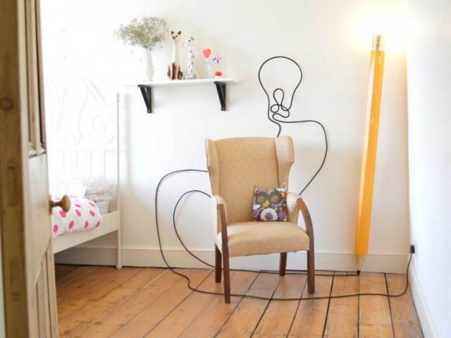 HB Pencil Floor Lamp - floor-lamps