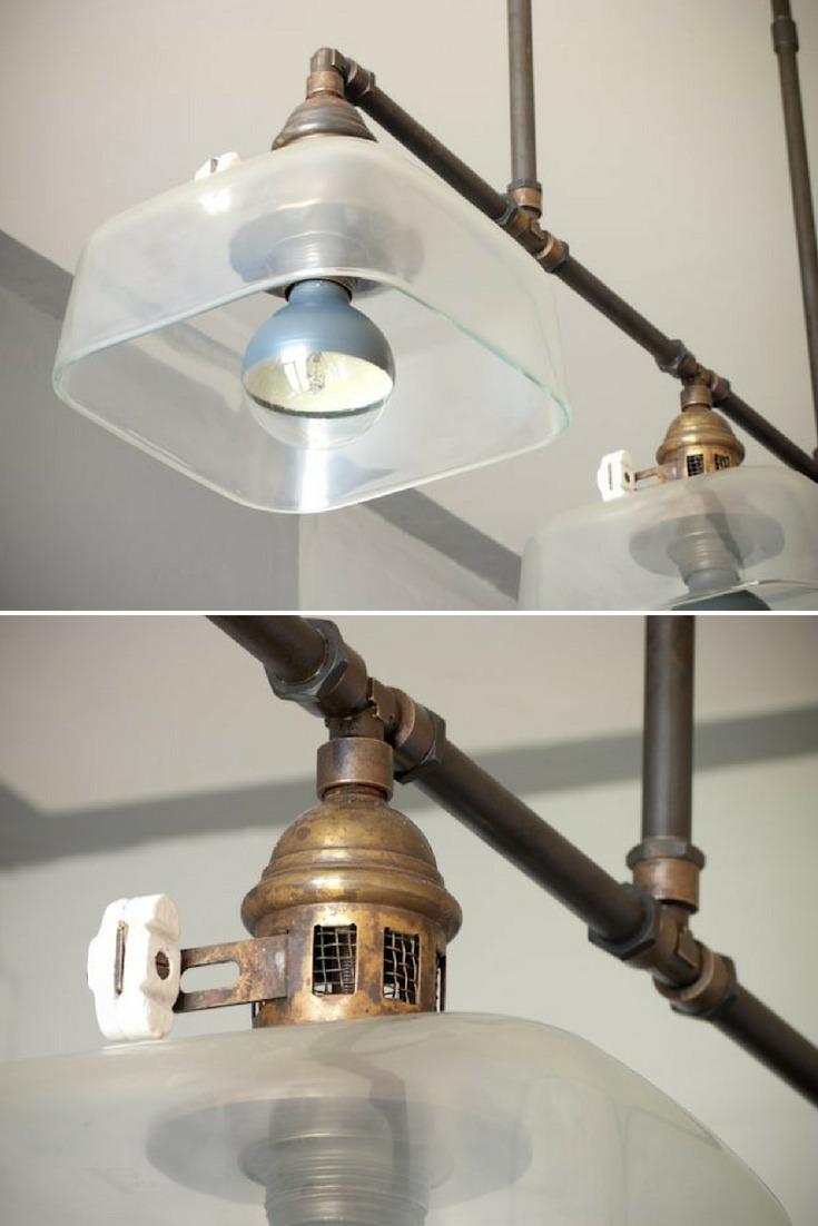 Converted Gaz Pendant Lighting - pendant-lighting
