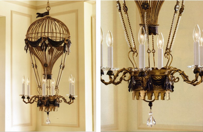 Air Balloon Antique Chandelier Chandeliers
