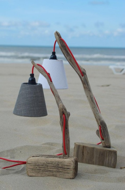 Driftwood Desk Lamp - wood-lamps, desk-lamps