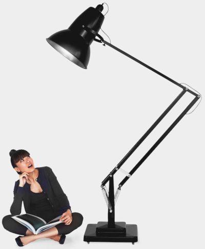 Gigantic Anglepoise Modern Floor Lamp