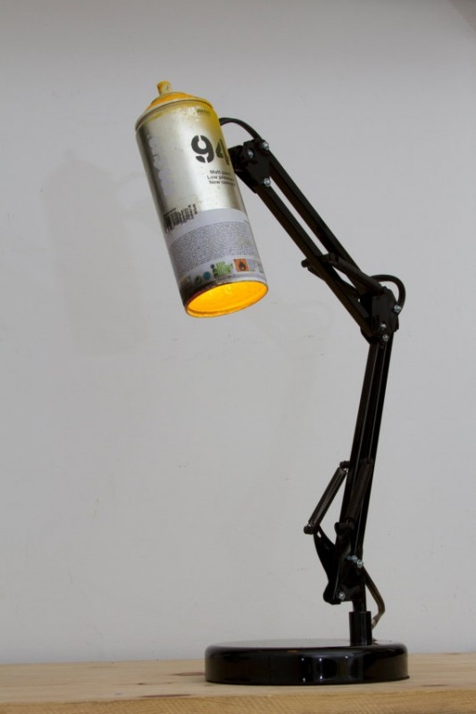 SprayPaint Desk Lamps - desk-lamps