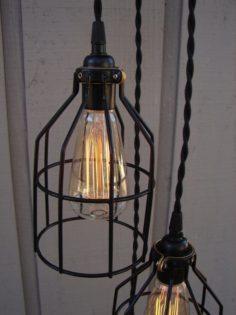 Vintage Farmhouse Pulley Light Id Lights