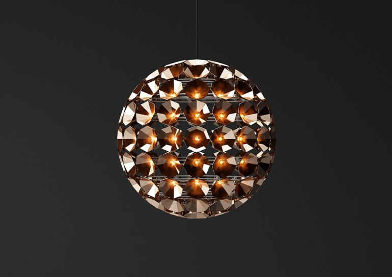 Satellite Shaped Pendant Lighting Pendant Lighting