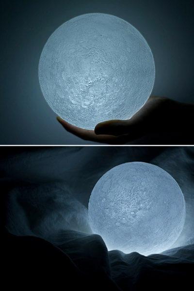 Moon Reproduction Bedside Desk Lamp