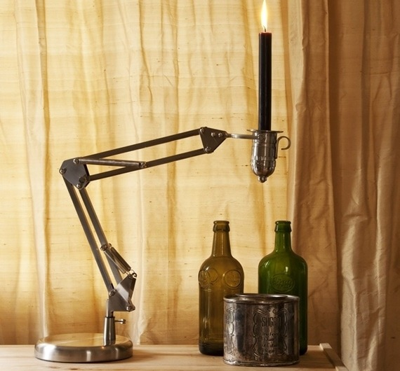 Candle Poise Desk Lamp - desk-lamps