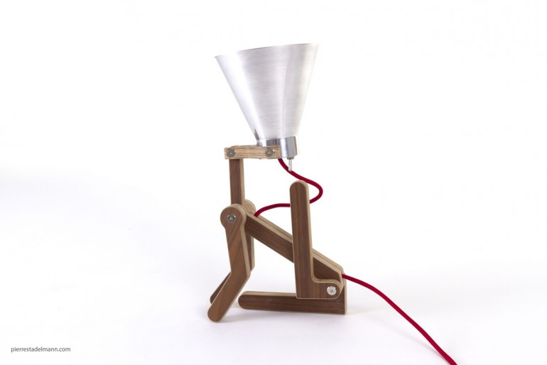 Waaf Wood Desk Lamp - wood-lamps, desk-lamps