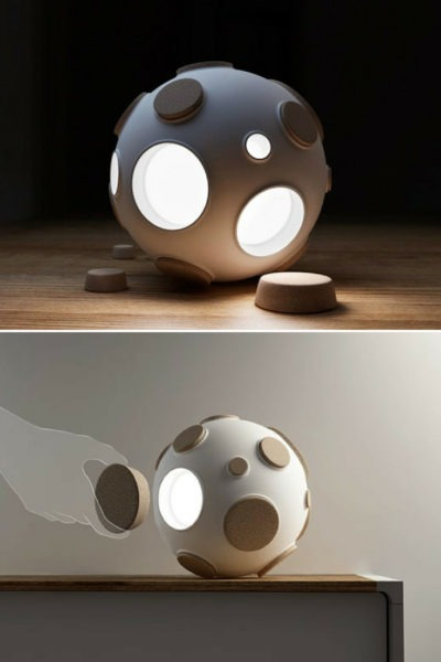 Armstrong Moon Desk Lamp