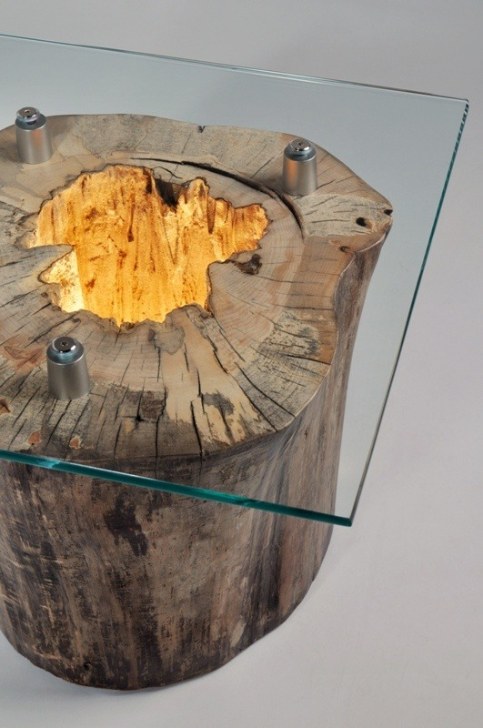 How to Make a Spectacular Stump Floor Lamp Floor Lamps Wood Lamps
