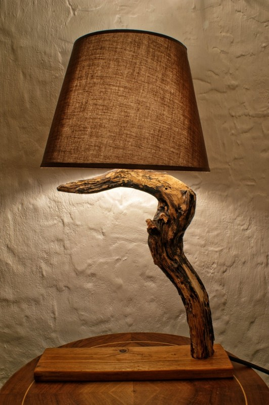 Simple Wood Table Lamp - wood-lamps, table-lamps