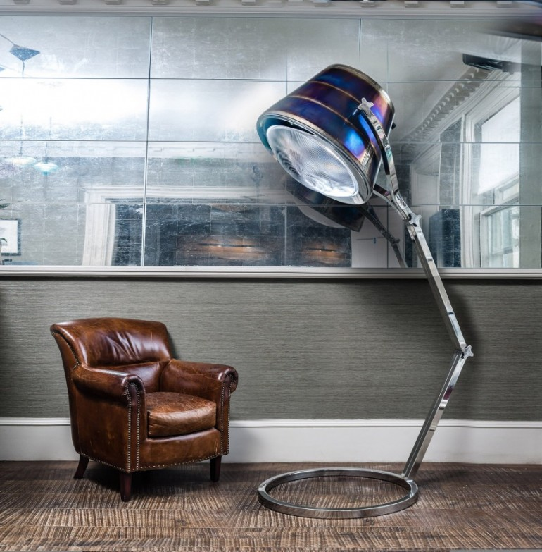 Exhaust Lamp Huge Floor Lamp | iD Lights