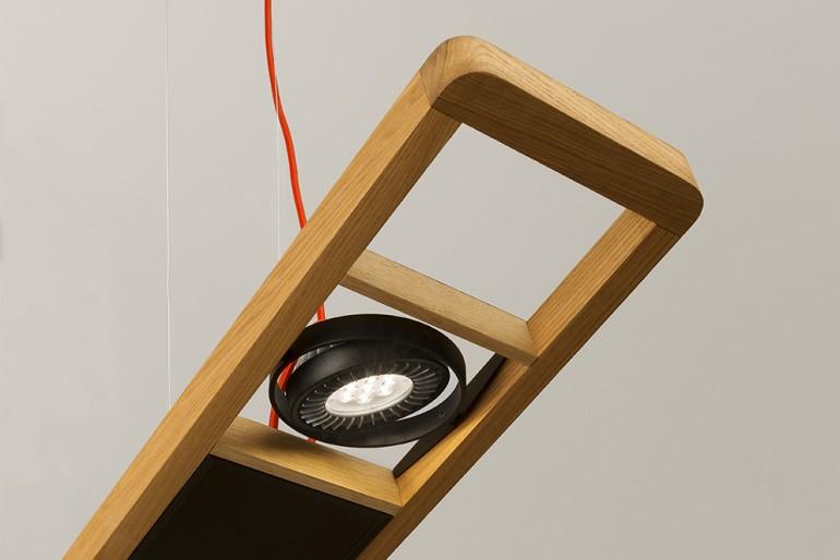 Arbo Wood and LED technology Pendant Lighting - wood-lamps, restaurant-bar, pendant-lighting