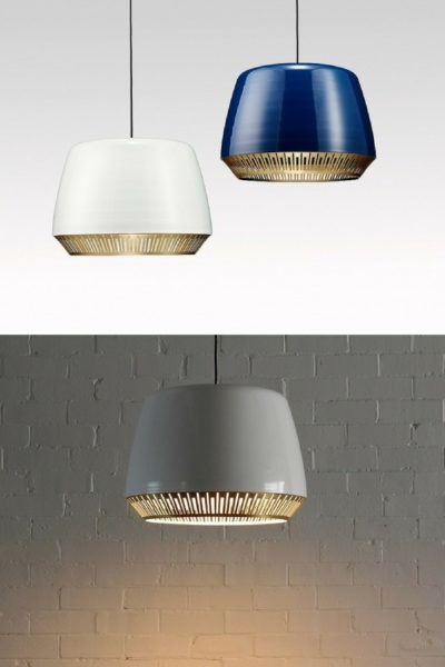 Elegant Bezel Pendant Lighting
