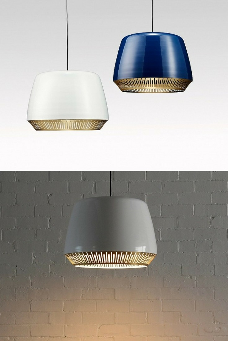 Elegant Bezel Pendant Lighting
