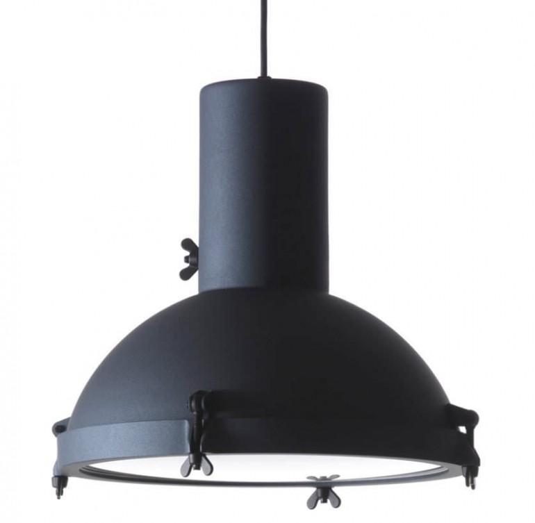 Matt Black Projecteur Modern Pendant Lighting - pendant-lighting