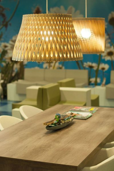 Plywood Pendant Lighting