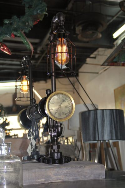 Steam Pipe Industrial Table Lamp