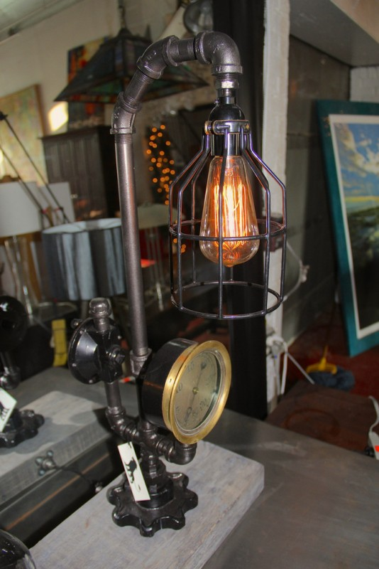 Steam Pipe Lamp
