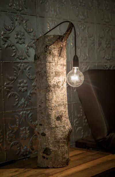 Very Simple Wood Lamp