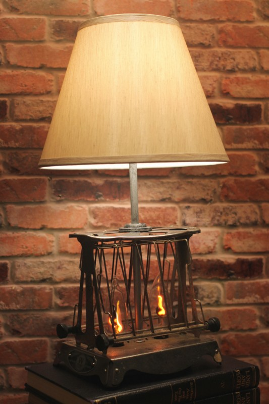 Vintage Toaster Industrial Table Lamp - table-lamps