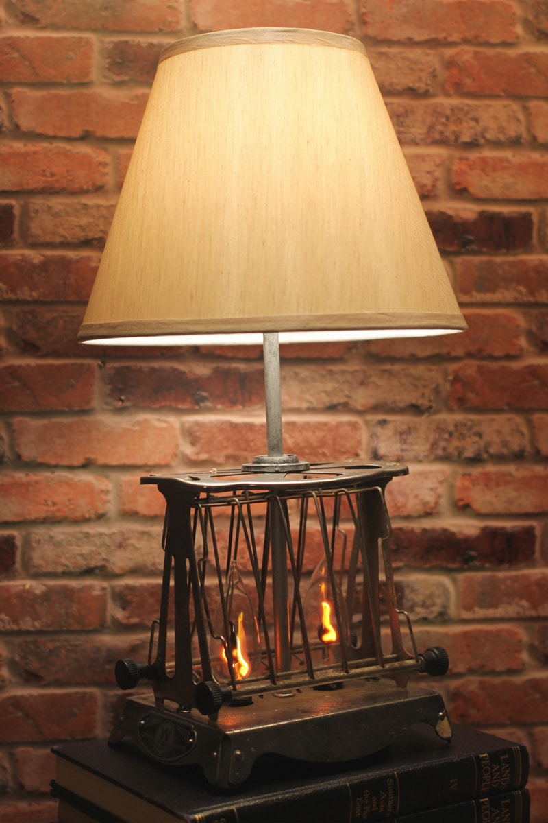 Vintage Toaster Industrial Table Lamp