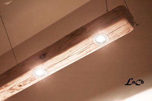 Wooden Eyes Rustic Industrial Chandelier - wood-lamps, restaurant-bar, pendant-lighting