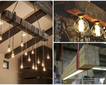 5 Best ideas for DIY Wood Beam Lighting
