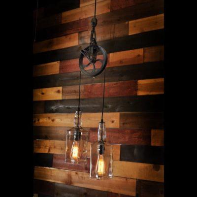 Farm Pulley Lamp