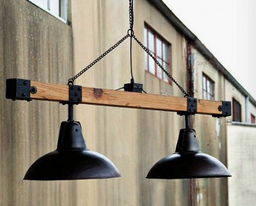 Industrial Style Warehouse Light Beam