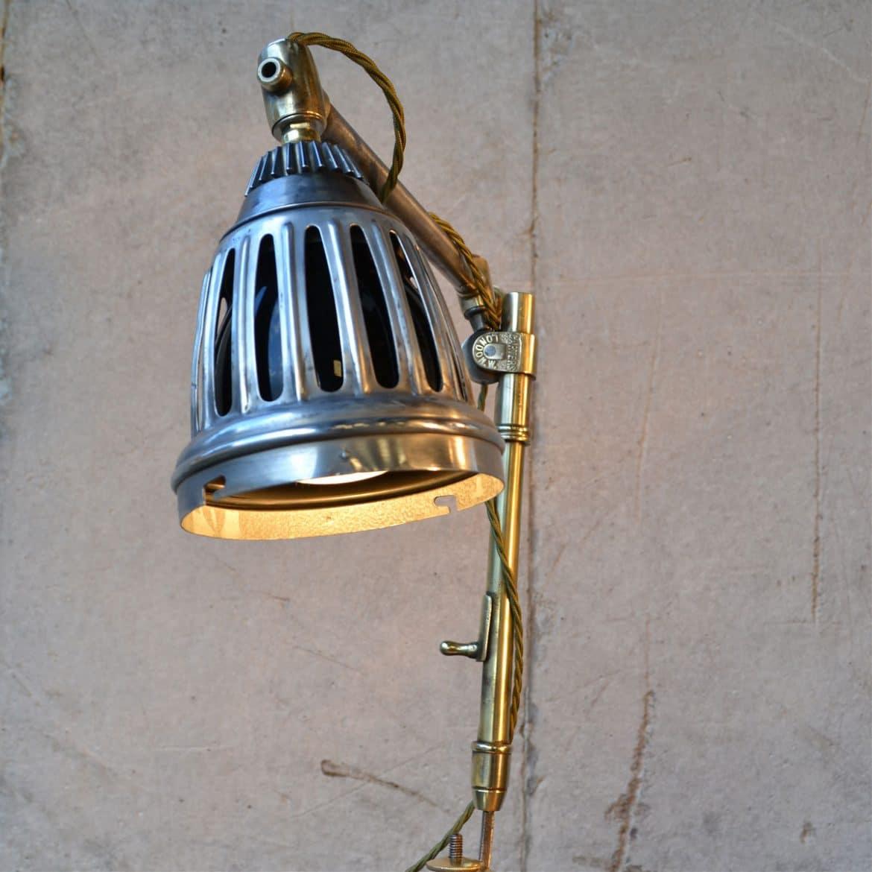 Little Steampunk Desk Lamp