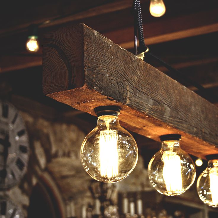 Best Wood Beam Chandelier DIYs