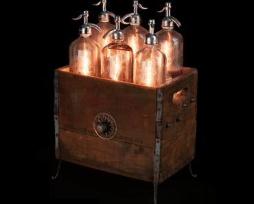 Seltzer Bottles Lamp