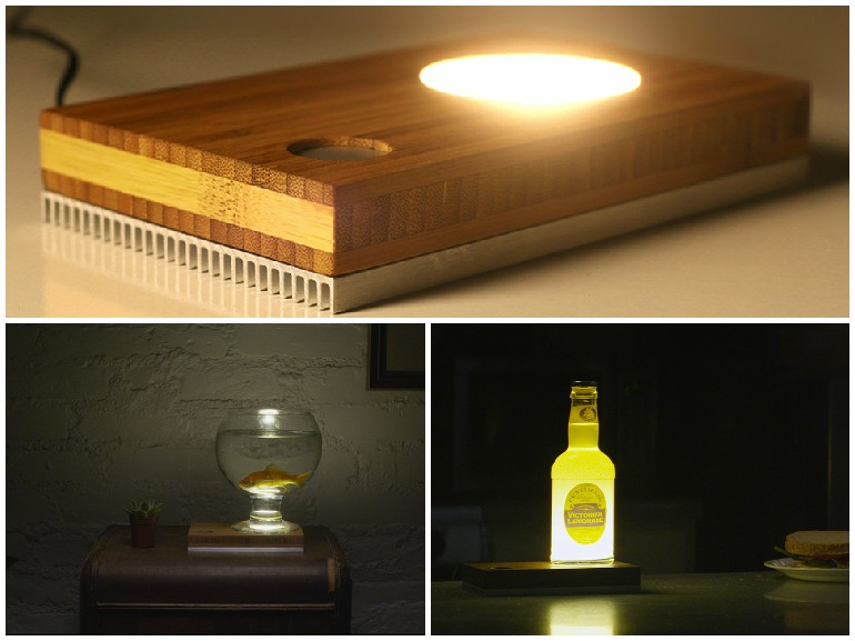 Baselamp - Make Your Own DIY LED Desk Lamp - desk-lamps