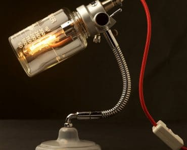 Vintage Ether Anaesthesia Vaporiser Lamp