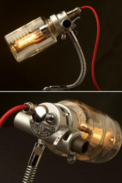 Vintage Ether Anesthesia Vaporiser Desk Lamp