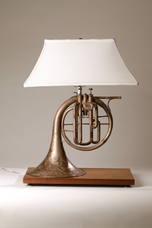 Horn Antique Table Lamp   Table Lamps