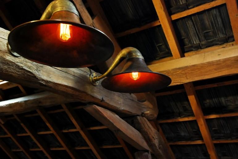 Gramophone lamp
