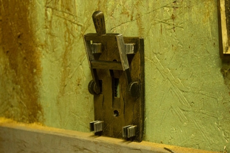 Frankenstein Style Light Switch - wall-lights-sconces