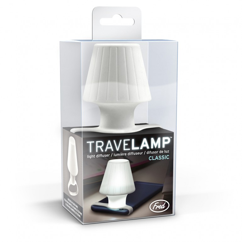 Travelamp: Turns Your Phone's LED Flash Into A Table Lamp Desk Lamps