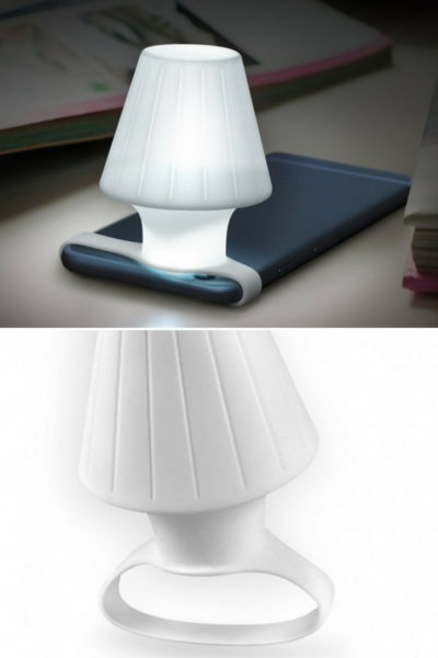Travelamp: Turns Your Phone's LED Flash Into A Table Lamp