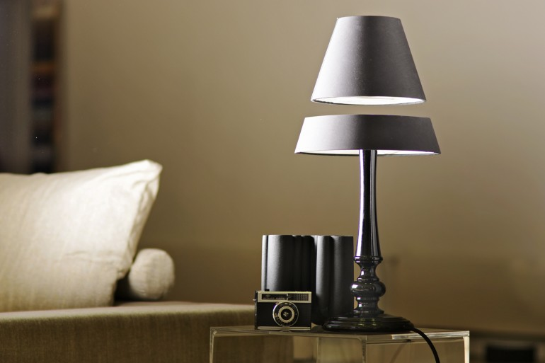 Crealev Floating Table Lamps Table Lamps