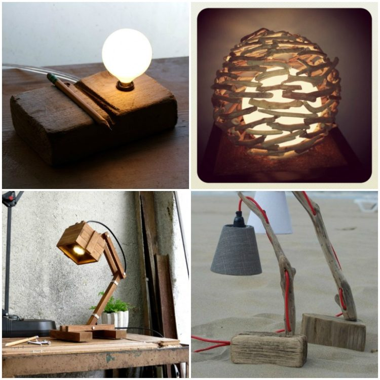 8 Best Handmade Wooden Desk Lamps Id Lights