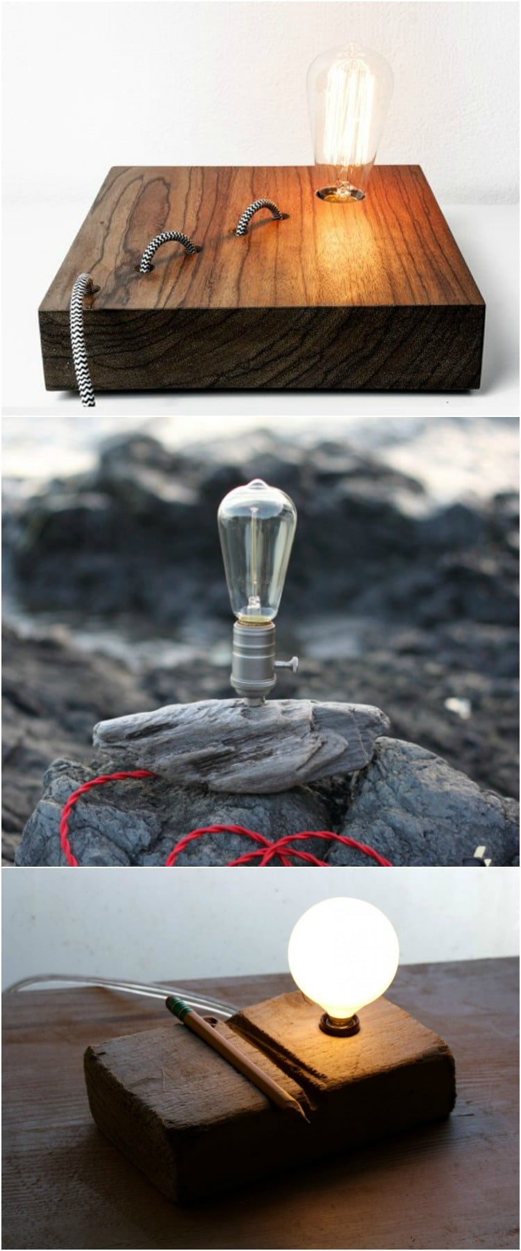 8 Best Decks Tarot Apokalypsis Images On Pinterest: 8 Best Handmade Wooden Desk Lamps
