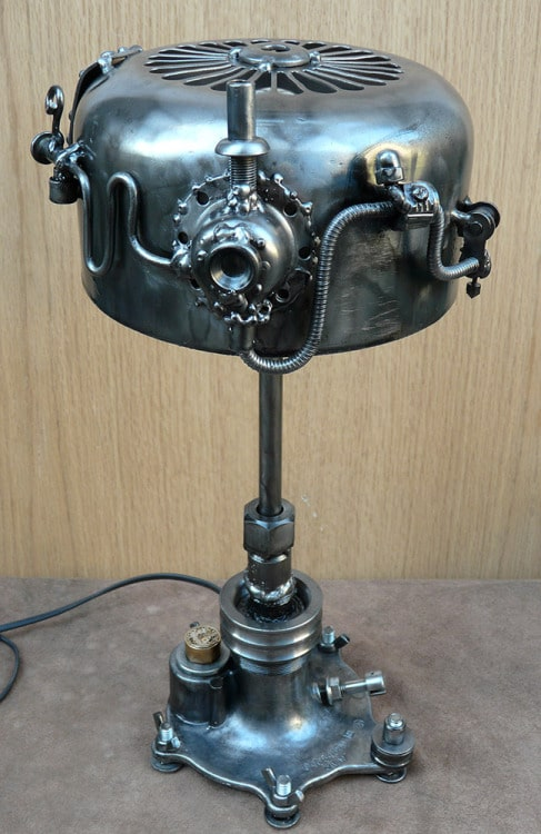 Nice Metal SteamPunk Desk Lamp.