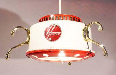 Old Vacuum Cleaner Lamp