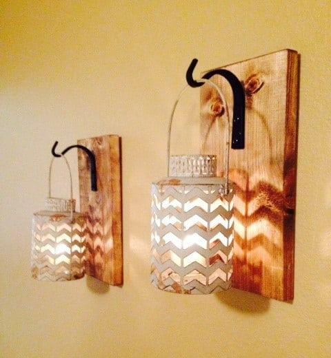 Pallet Floor Lamp: 10 Inventive Ideas Of Wood Pallet Lamps