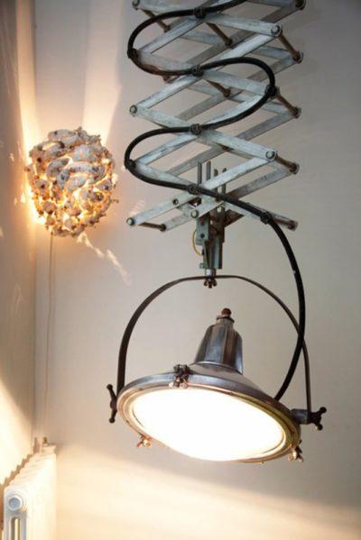 Scissor Recyled Lamp
