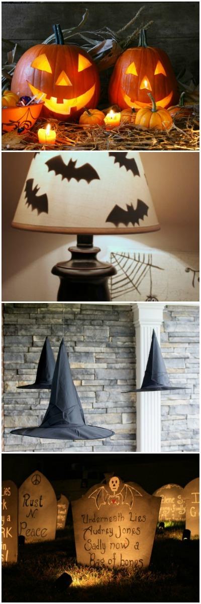 Top 5 Best Ideas of Handmade Halloween Lamps - table-lamps